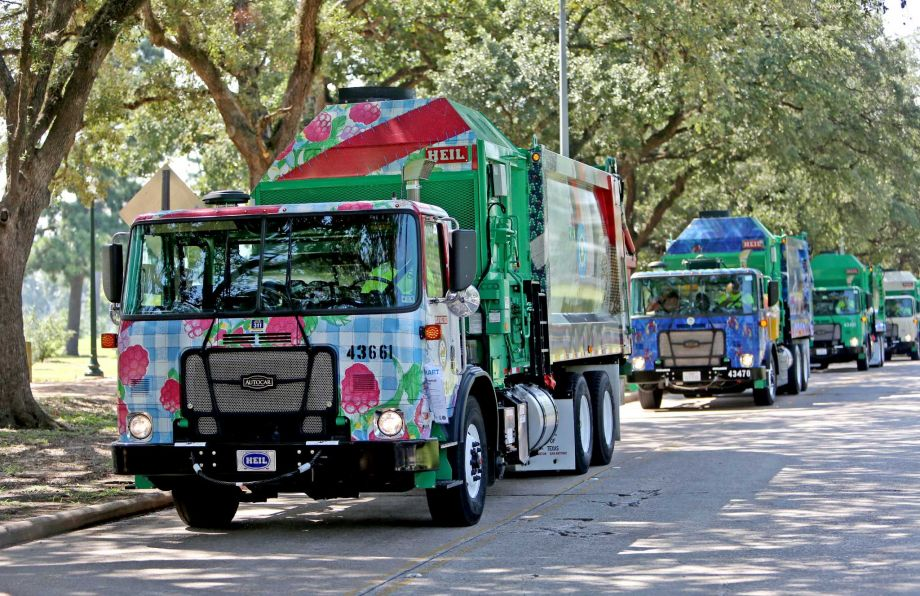 Recycle Truck: I have a positive impact
